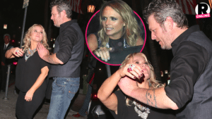 Blake and Miranda have a huge public fight after Grammy's?