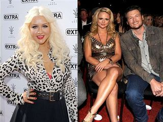 Christina Aguilera and Miranda Lambert