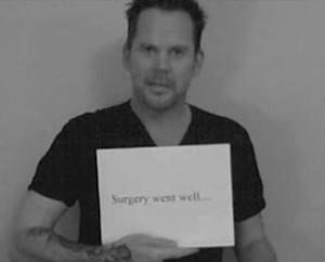 Gary Allan surgery