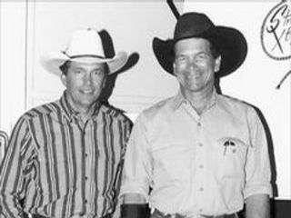 George and Buddy Strait