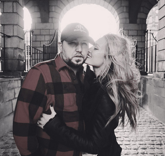 Jason Aldean and Brittany