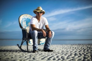Kenny Chesney on the beach