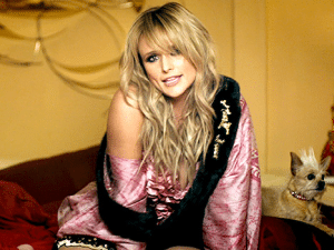 Miranda Lambert gown in Little Red Wagon video