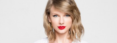 Taylor Swift headshot with white background