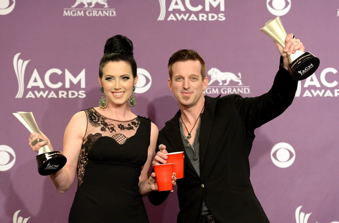 48th Annual Academy Of Country Music Awards - Press Room