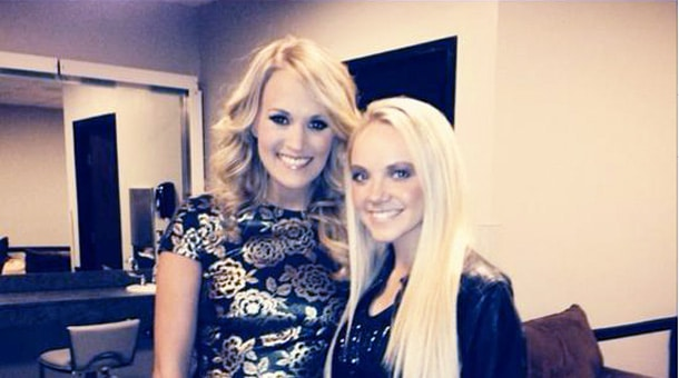 Danielle-Bradbery-Meets-Carrie-Underwood