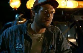 Blake Shelton in Cady Groves video