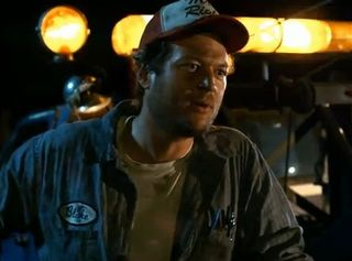 Blake Shelton in Cady Groves video