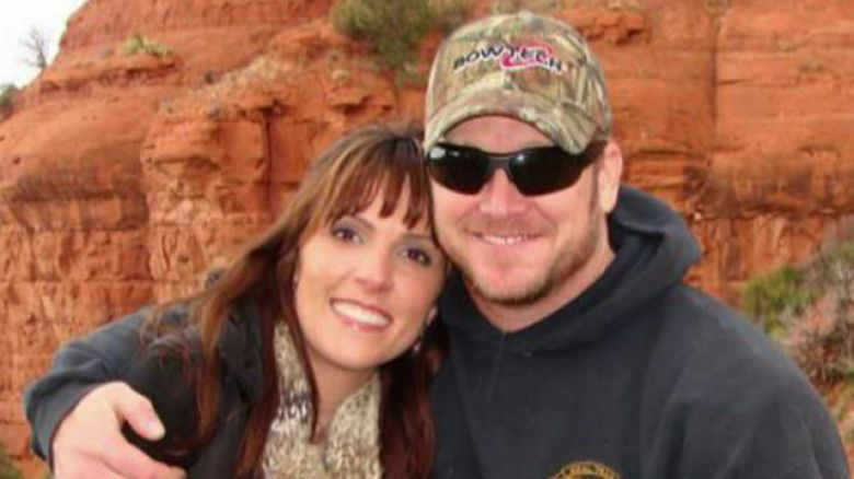 Chris Kyle and wife