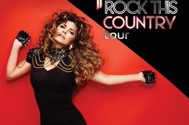 Shania Twain rock your country tour