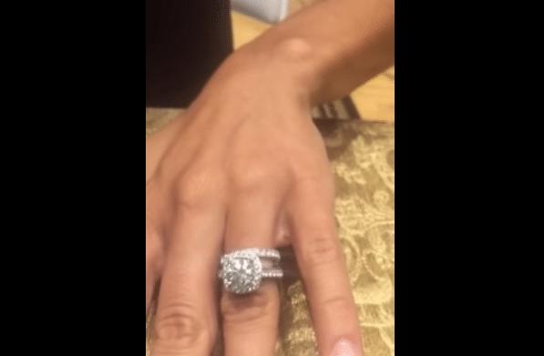 Jana Kramer engagement ring