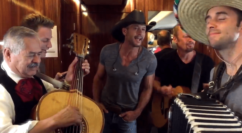 Tim McGraw Mariachi Band
