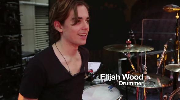 Elijah Wood-drummer