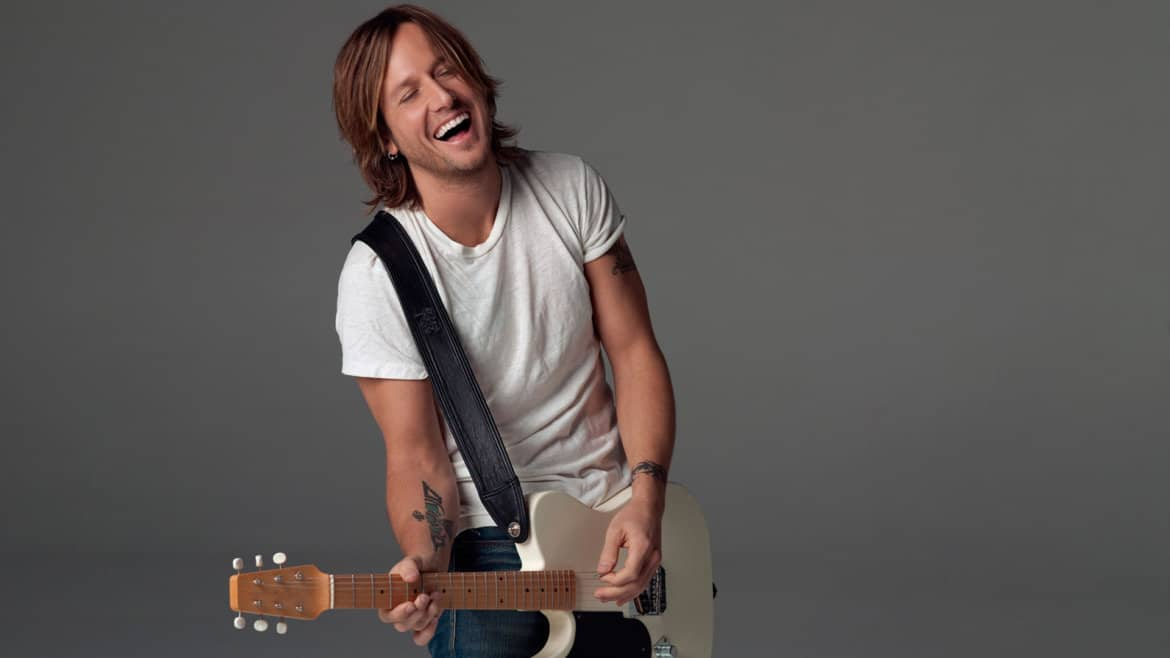 Keith Urban laughing 2