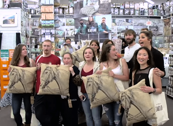 Lady Antebellum surprise fans at Bed Bath and Beyond