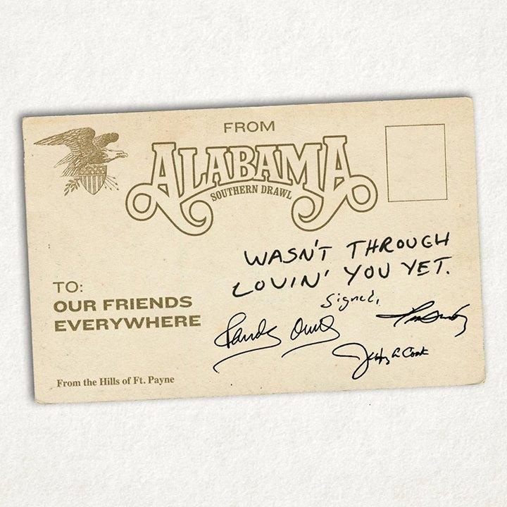 Alabama Wasn't  Through Loving You Yet