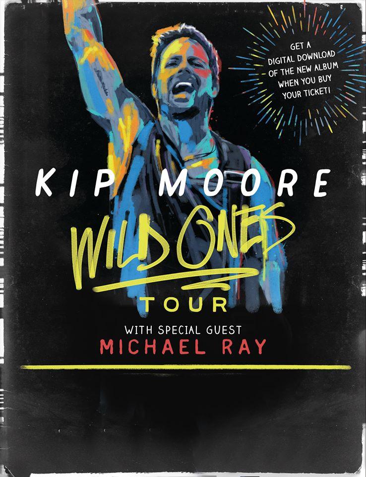Kip Moore Wild Ones Tour