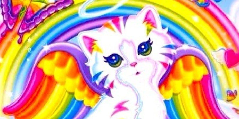 Lisa Frank cat