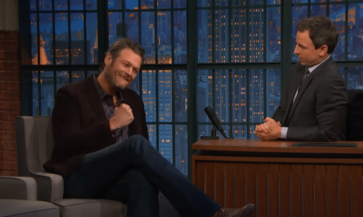Blake Shelton CMA awards jokes are a-ok