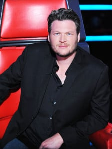 """THE VOICE -- Episode 211B """"Live Show"""" -- Pictured: Blake Shelton -- (Photo by: Colleen Hayes/NBC)"""