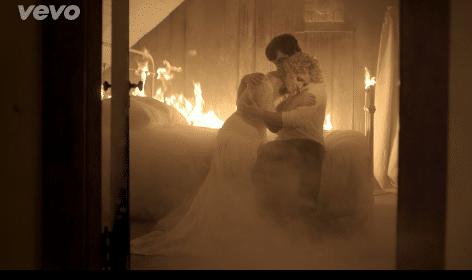 Cam Burning House video 2