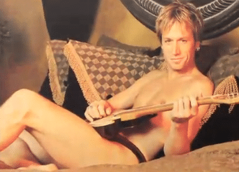 Keith Urban in Playgirl