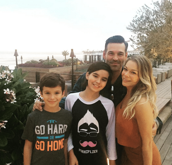 LeAnn Rimes and family - Instagram