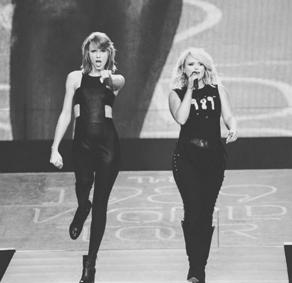Taylor Swift and Miranda Lambert