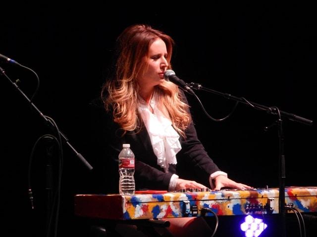 Lucie Silvas performing in Boise, ID 11/13/15