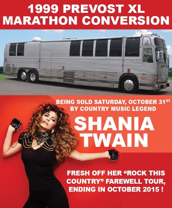 Shania Twain auction