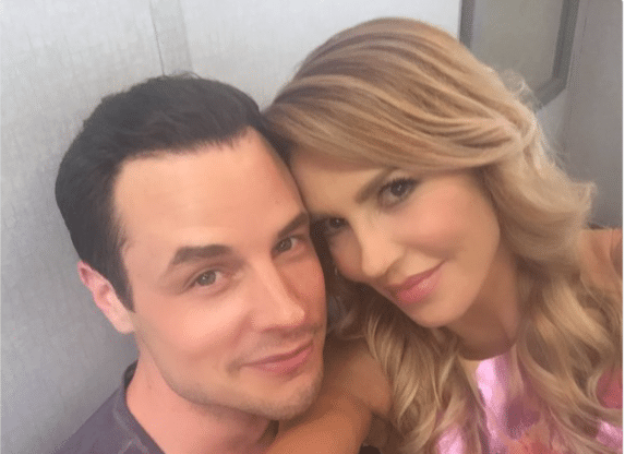 Brandi Glanville and Dean Sheremet