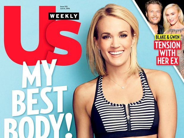 Carrie Underwood Us Weekly cover