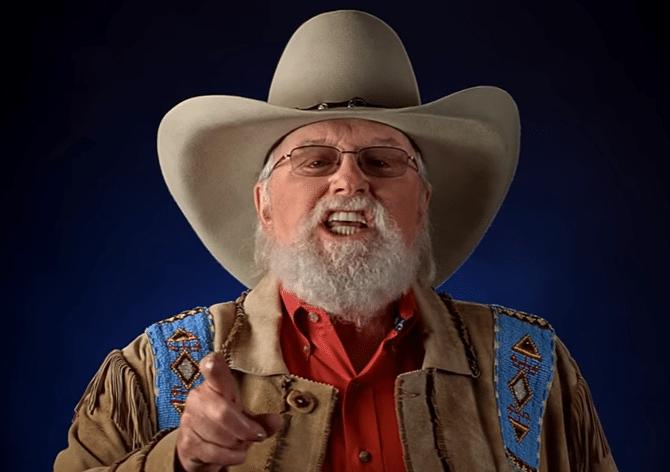 Charlie Daniels NRA video