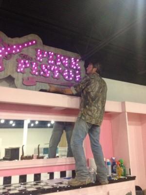 Blake Shelton Pink Pistol