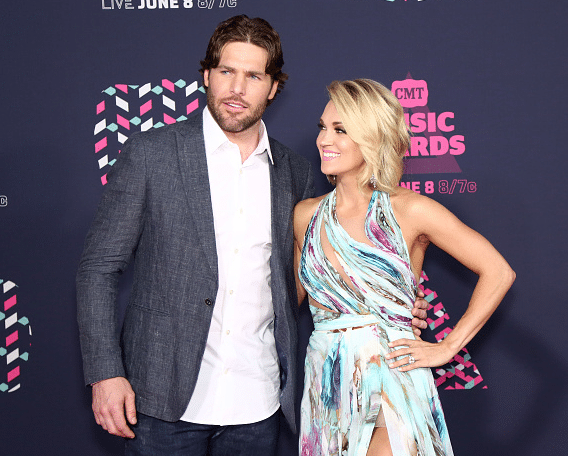 Carrie and mike CMT awards