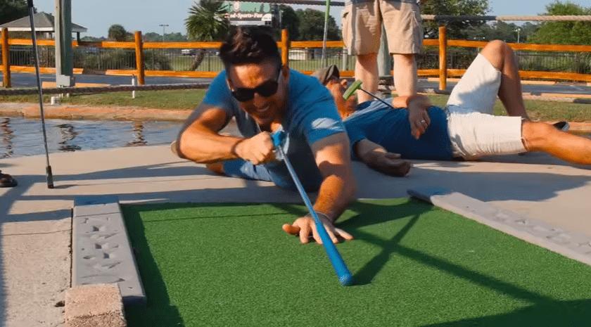 Jake Owen mini golf