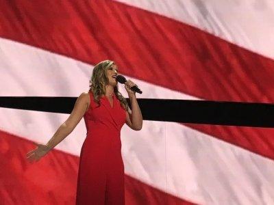 Ayla Brown National Anthem