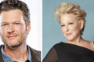 Blake Shelton and Bette Midler