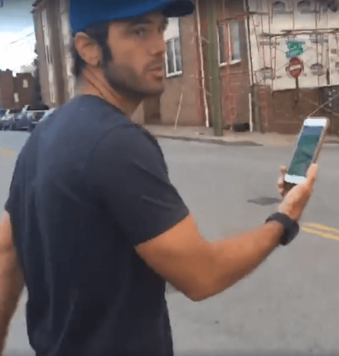 Chuck Wicks plays Pokemon GO