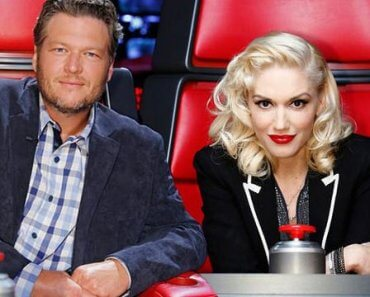 "Blake Shelton and Gwen Stefani on ""The Voice"""