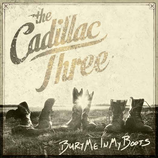 Cadillac Three Bury Me In My Boots album cover