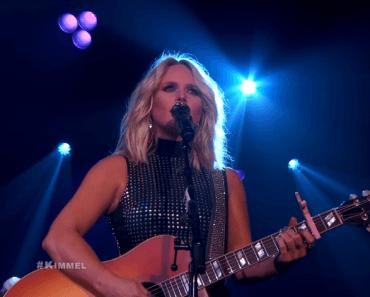 Miranda Lambert on Jimmy Kimmel Live
