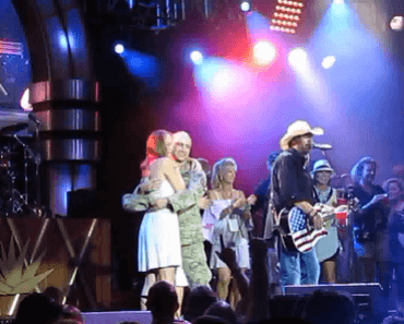 Toby Keith surprises wife with returning soldier husband