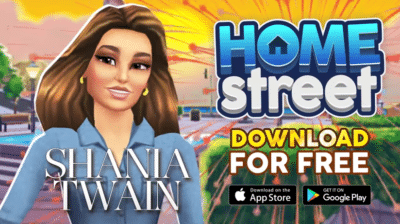 Animated Shania Twain from new game
