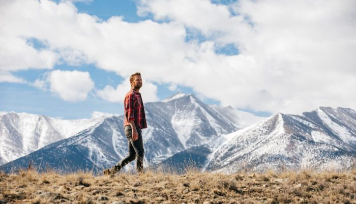 Dierks Bentley in the mountains
